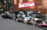 İzmir'de esnafın çöp tepkisi