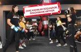 Kadınlar kick boks öğrenerek öz savunmaya hazırlanıyor