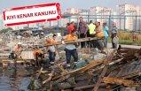 Karşıyaka'da 'kaçak iskele' operasyonu