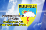 Meteoroloji'den uyarı: Sağanak ve fırtına geliyor