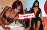 Naomi Campbell'dan özel hayatına dair açıklamalar!