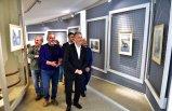Ressam Adnan Kandemir yedinci kişisel sergisini Bornova'da açtı