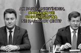 AK Parti anketinden, Babacan ve Davutoğlu'na ne kadar oy çıktı?