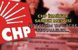 CHP İzmir'de sandık mesaisi