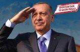 Cumhurbaşkanı Erdoğan'dan 10 Kasım mesajı