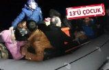 Dikili'de 25 göçmen yakalandı