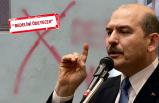 İzmir'deki skandal yazı ile ilgili Bakan Soylu'dan çok sert tepki!