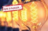İzmir elektrik kesintisi! 4 Kasım'da 14 ilçede elektrikler kesilecek!