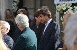 İzmirli Enzo Sponza'nın cenaze törenine İbrahim Kutluay da katıldı