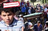 Katliam kurbanı aileye acı veda
