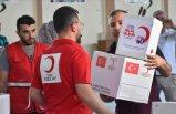 Suriye'ye dev gıda yardımı