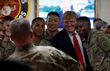 Trump'tan sürpriz ziyarette bomba açıklama: Müzakerelere başladık!