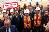 Yıldırım ve Bakan Kasapoğlu, İzmir'in yeni statlarını inceledi