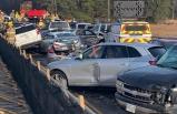 ABD'de trafiği felç eden kaza! 69 araç birbirine girdi