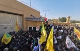 Bağdat'ta ABD Büyükelçiliği ateşe verildi!