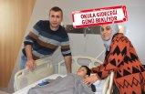 Baki Can İzmir'de sağlığına kavuşuyor