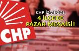 CHP İzmir'de 4 ilçede pazar mesaisi
