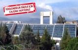 Ege Üniversitesi'nden güneş enerjisi atağı!