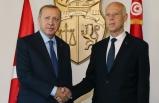 Erdoğan'dan Tunus'a Libya ziyareti