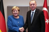 Erdoğan, Merkel ile görüştü!
