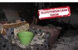 Evinde yangın çıkan kadın dumandan zehirlenip öldü