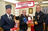 Foça'daki Kıbrıs gazilerine tören