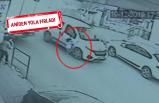 İzmir'de dehşet anları kamerada