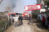 İzmir'de mobilya fabrikası küle döndü