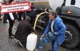 İzmir'de vatandaş suyu tankerlerden alıyor