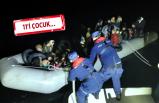 Karaburun ve Seferihisar'da 75 kaçak göçmen yakalandı