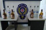 Sahte içkilere, ithal içkilerden sökülen bandrolleri yapıştırmışlar