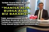 Abdulvahap Olgun, İzmir'in lobi eksikliğine dikkat çekti