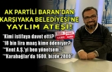 AK Partili Ahmet Uğur Baran'dan Ben TV'de flaş açıklamalar