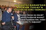 AK Partili Baran'dan, Başkan Tugay'a kulüp ve asansör salvosu!