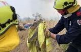 Avustralya'daki yangından korkutan görüntüler...
