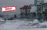 Ege Denizi için 'fırtına' uyarısı