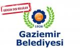 Gaziemir Belediyesi'nden fotoğraf açıklaması