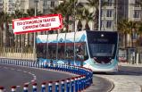 İzmir'in çevreci tramvayı: 100 bin ton...