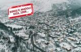 İzmir'in o ilçesinde kar etkili oldu!