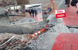 Karşıyaka'da vatandaşın güvenliğini tehdit eden çalışma