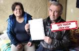 Tek odalı evde yaşayan çift, yardım bekliyor