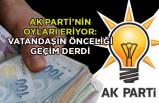"""""""Vatandaşın geçim derdi AK Parti'nin oylarını eritiyor"""""""