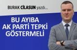 Burak Cilasun yazdı: Bu ayıba AK Parti tepki göstermeli