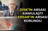 DİSK'in arsası kamulaştı Ensar'ın arsası korundu