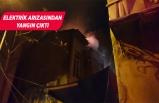 İzmir'de çıkan yangında bir ev kullanılamaz hale geldi