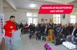 Karabağlar'da afet bilinçlendirme eğitimi