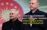 Sözcü yazarından 'Binali Yıldırım' iddiası: Erdoğan'a karşı güç gösterisiydi