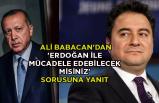 Ali Babacan'dan 'Erdoğan ile mücadele edebilecek misiniz' sorusuna yanıt