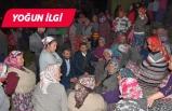 Başkan Kırgöz'den gece ziyareti