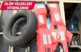 Basmane'de 'ölüm yelekleri' tekrar satışta